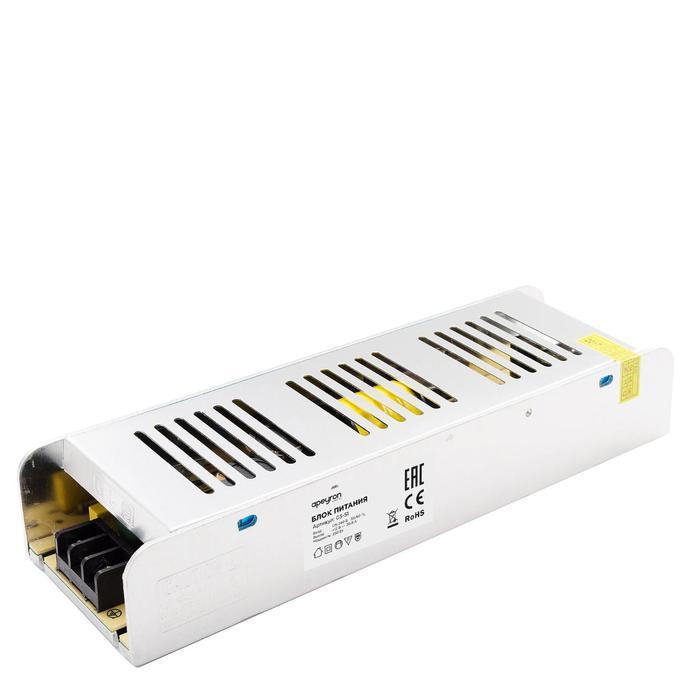 Блок питания Apeyron electrics 12В, 250Вт, IP20, 20.83А, 223x68x40 мм