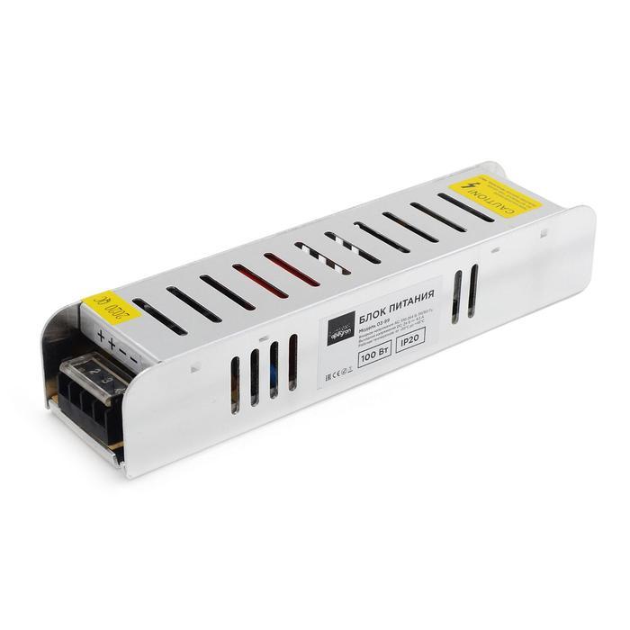 Блок питания Apeyron electrics 24В, 100Вт, импульсный, IP20, 170-264В, 4.2А, 188x46x35 мм
