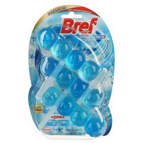 Освежитель для унитаза BREF Brilliance Gel Арктическая волна 3 * 42г * 9