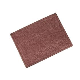 Картхолдер, 5 кармана, цвет бордовый
