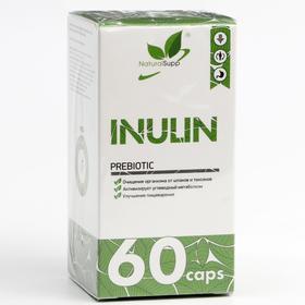 Пребиотик Инулин 500 мг, пребиотик 60 капсул