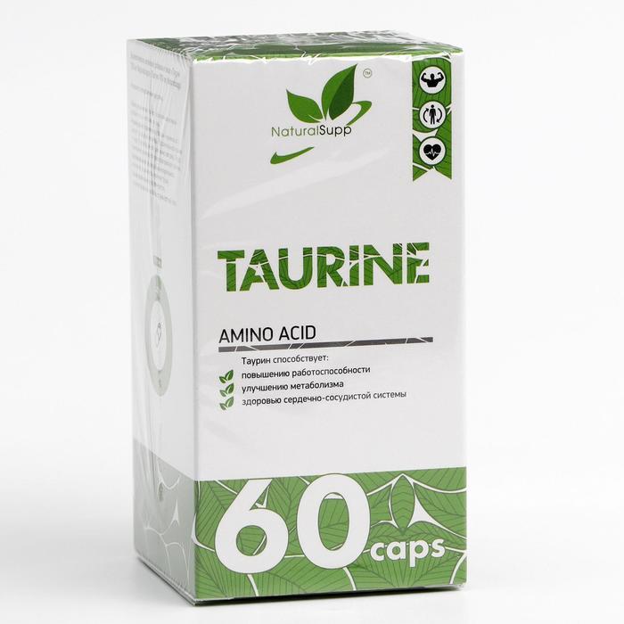Аминокислота Таурин, 650 мг 60 капсул