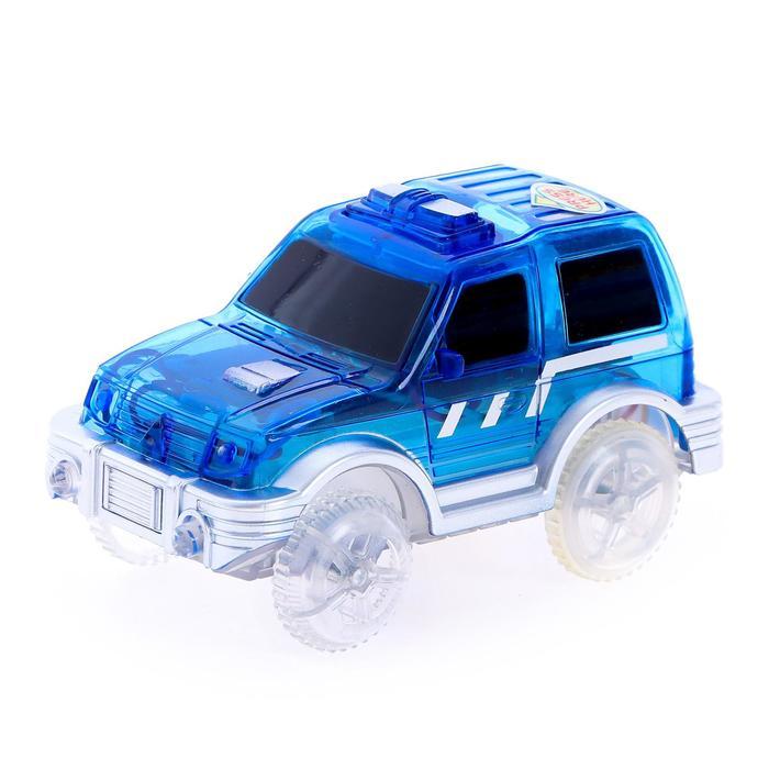 Машинка для гибкого трека, цвет синий