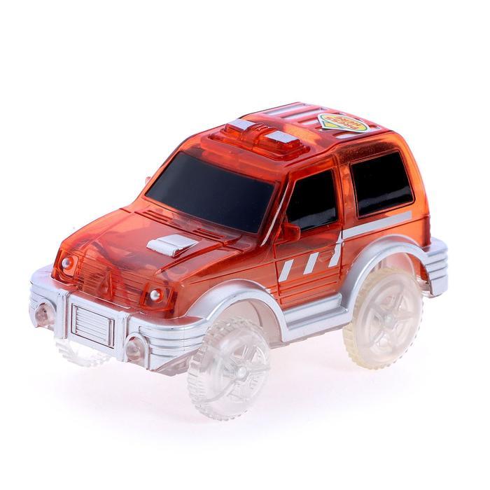 Машинка для гибкого трека, цвет красный