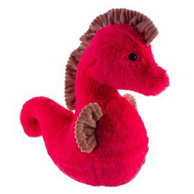 Игрушка мягконабивная Tallula Морской конёк 40 см, фуксия