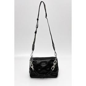 Сумка кросс-боди, отдел на молнии, наружный карман, цвет чёрный