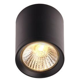 Светильник IL.0005.5000, 1x50Вт GU10, цвет чёрный