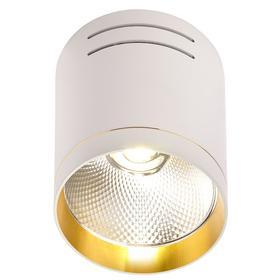 Светильник IL.0005.7015, 1x10Вт LED, цвет белый