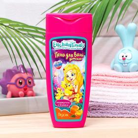 Детская пена для ванн с ароматом Персик, «Enchantimals», 250 мл