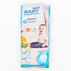 Подгузники одноразовые для детей Lure 5/XL 11-25 кг jambo-pack 38шт