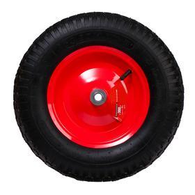 Колесо пневматическое, d = 380 мм, ступица: диаметр 16 мм, ширина покрышки 85 мм Ош