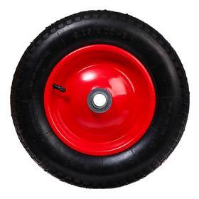 Колесо пневматическое, d = 360 мм, ступица: диаметр 25 мм, ширина покрышки 75 мм Ош