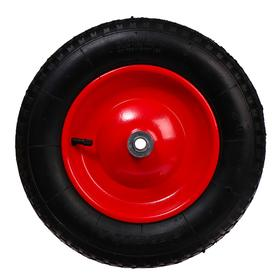 Колесо пневматическое, d = 360 мм, ступица: диаметр 16 мм, ширина покрышки 75 мм Ош