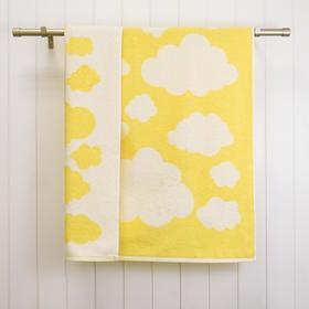 Полотенце махровое Sky 33х50, цвет жёлтый