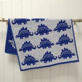 Полотенце махровое Dino 33х50, цвет синий