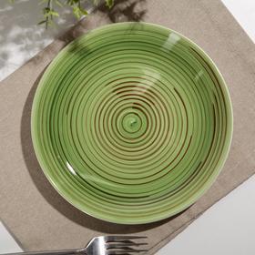 Тарелка мелкая «Полевая трава», d=19 см