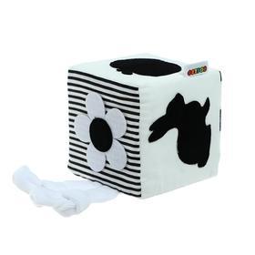 Кубик «Бизикубик. Черно-белый» 9 × 9см