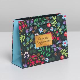 Пакет ламинированный Present for you, S 15 х 12 х 5,5 см