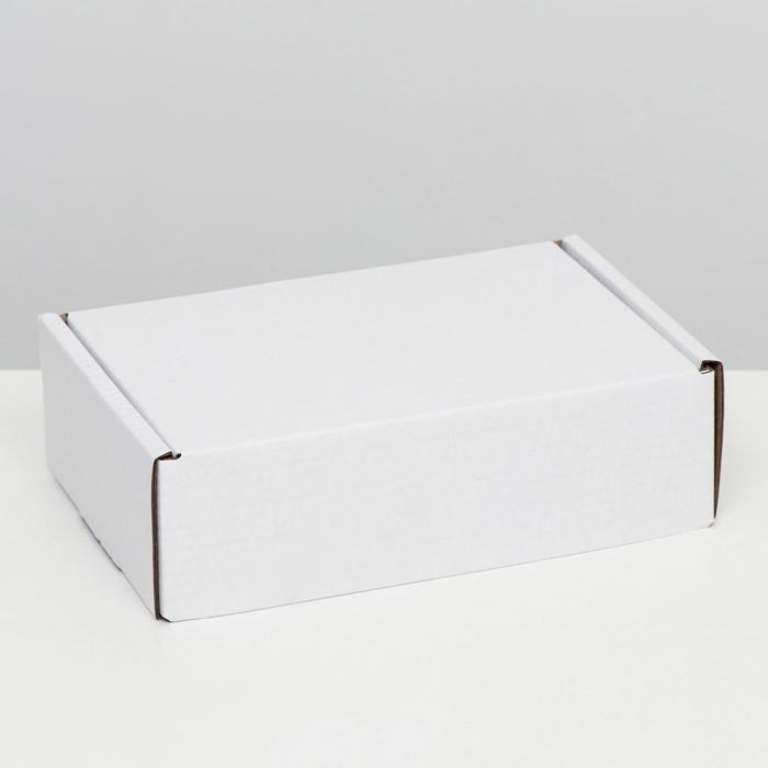 """Коробка самосборная """"Почтовая"""", белая, 26 х 17 х 8 см,"""