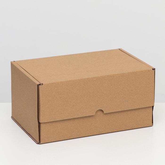 """Коробка самосборная """"Почтовая"""", бурая, 30 х 20 х 15 см,"""