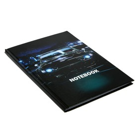Колледж-тетрадь А5, 64 листа в клетку Cars-4, твёрдая обложка, глянцевая ламинация, блок офсет