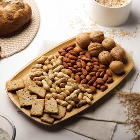 Блюдо для подачи Доляна «Бамбук», овальное, 30×18 см, бамбук