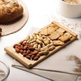 Блюдо для подачи Доляна «Бамбук», 28×13 см, бамбук