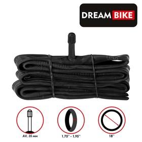 "Камера 18""x1.75-1.95"" Dream Bike, AV 35 мм, бутил, картонная коробка"