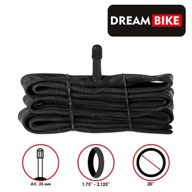 "Камера 20""x1.75-2.125"" Dream Bike, AV 35 мм, бутил, картонная коробка"