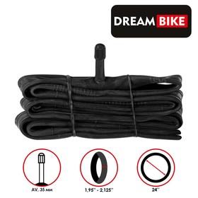 "Камера 24""x1.95-2.125"" Dream Bike, AV 35мм, бутил, картонная коробка"