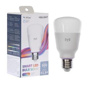 Умная LED-лампочка Yeelight Smart LED Bulb W3, E26/E27, 8 Вт, 1000 Лм, 1700–6500 K