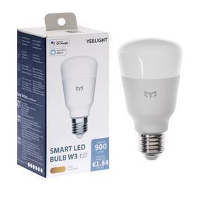 Умная LED-лампочка Yeelight Smart LED Bulb W3, E26/E27, 8 Вт, 900 Лм, 2700 K
