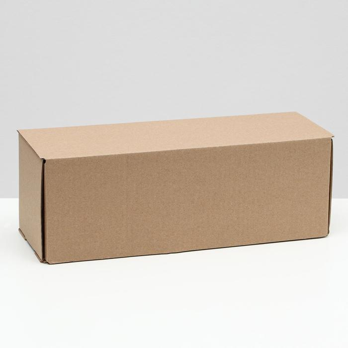 Коробка под бутылку, бурая 12 х 33,6 х 12 мм,