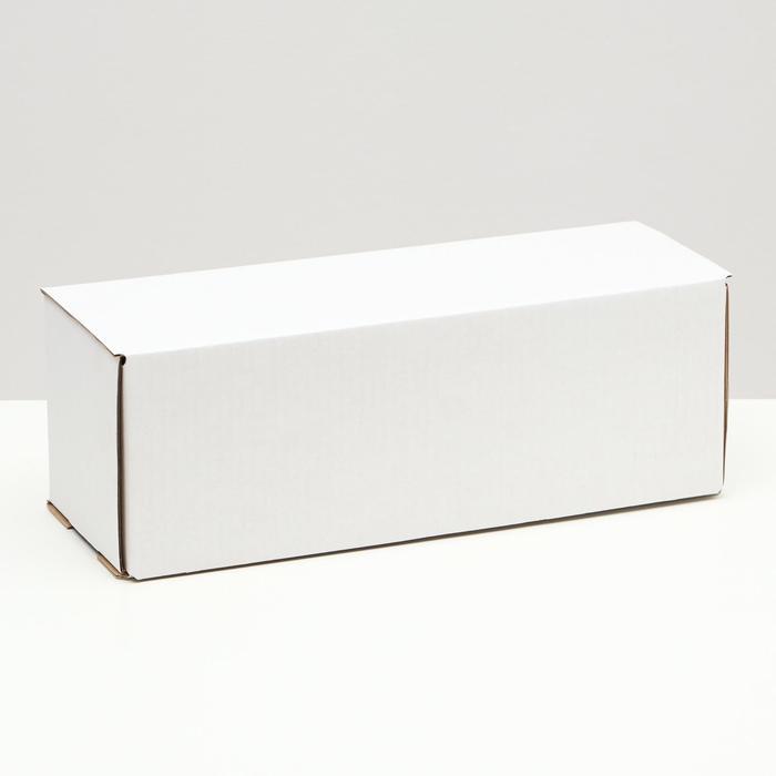 Коробка под бутылку, белая, 12 х 33,6 х 12 см,