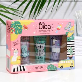 Подарочный набор Olea крема для рук 3 шт по 30 мл, микс