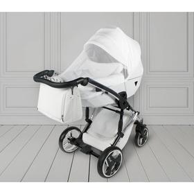 Москитная сетка для коляски универсальная AmaroBaby Summer Sun, цвет белый