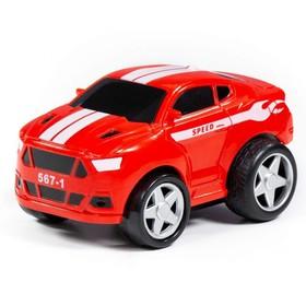 Автомобиль гоночный №1 «Крутой Вираж», инерционный