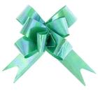Бант-бабочка №1,2 перламутровый, цвет зелёный