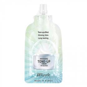 Крем для лица BEAUSTA Whitening Tone-Up Cream, освежающий, 15 мл