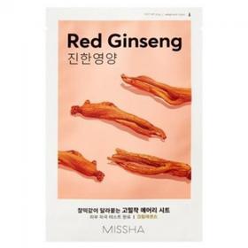 Маска для лица MISSHA Airy Fit Sheet Mask Red Ginseng