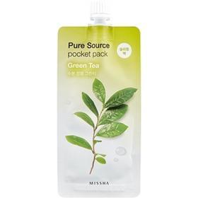 Маска для лица MISSHA Pure Source Pocket Pack Green Tea, 10 мл