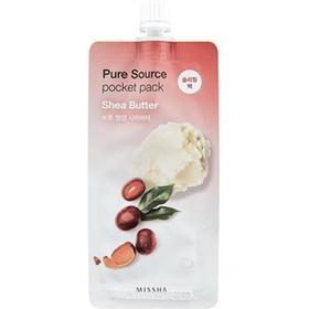 Маска для лица MISSHA Pure Source Pocket Pack Shea Butter, 10 мл