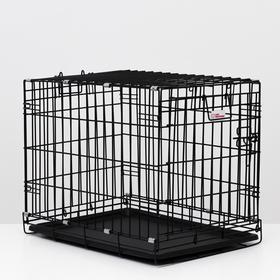 Клетка для собак № 2,, 63 х 46 х 50 см, 10 кг Ош