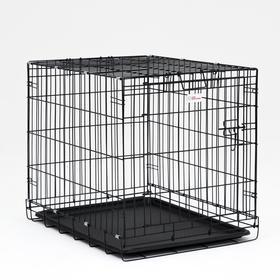 Клетка для собак № 3, 77 х 59 х 62 см, 10 кг Ош