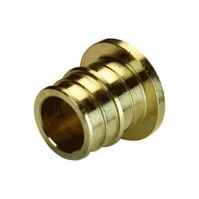 """Заглушка аксиальная """"РОС"""" 127-3764, d=16 мм, латунь"""