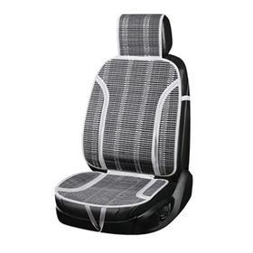 Накидка на сиденье с поддержкой спины, Summer-05, SKYWAY, серый, бамбук, S01302030 Ош