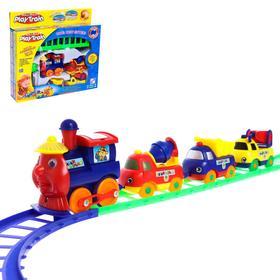 Железная дорога «Большое путешествие», работает от батареек