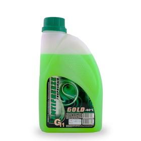 Антифриз GOLD ОЖ, - 40, G11, зеленый, 1 кг Ош
