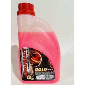 Антифриз GOLD ОЖ, - 40, G12+, красный, 1 кг Ош