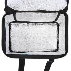 Термосумка Cartage Т-10, черная, 17-18 литров, 35х21х24 см Ош